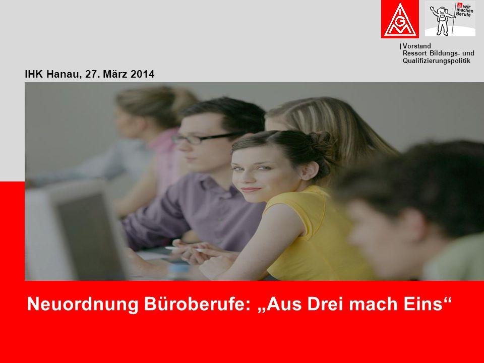 """Neuordnung Büroberufe: """"Aus Drei mach Eins"""
