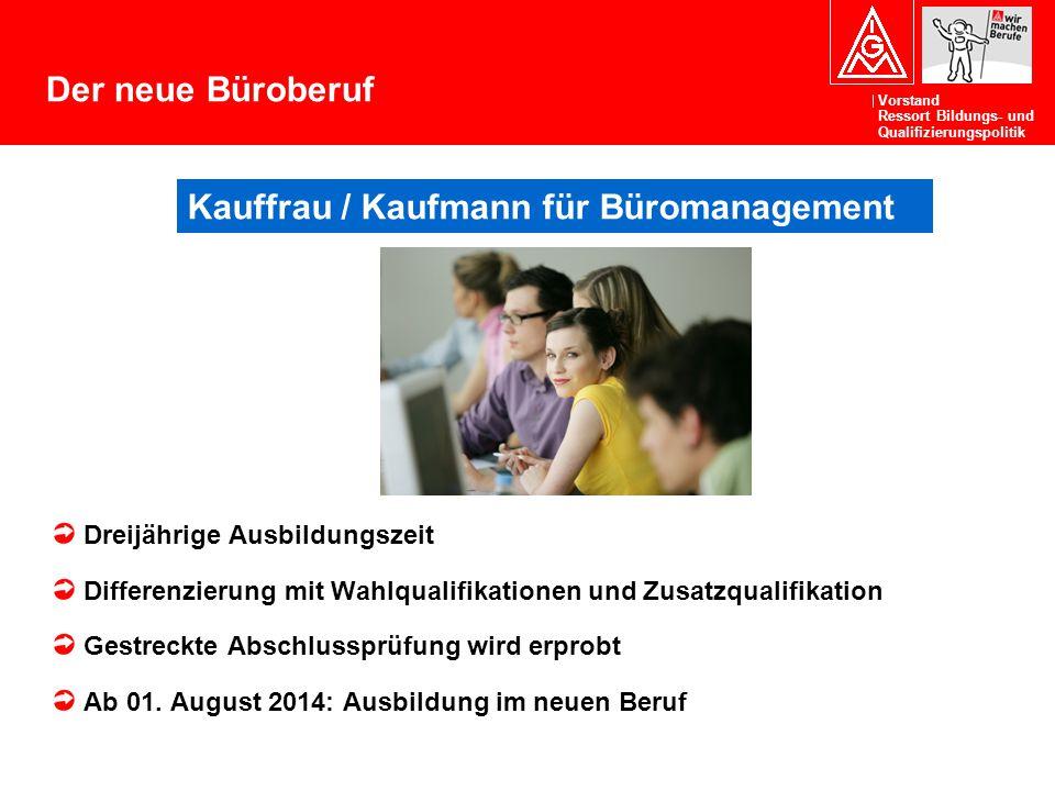 Kauffrau / Kaufmann für Büromanagement