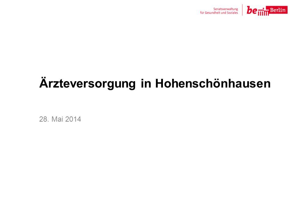 Ärzteversorgung in Hohenschönhausen