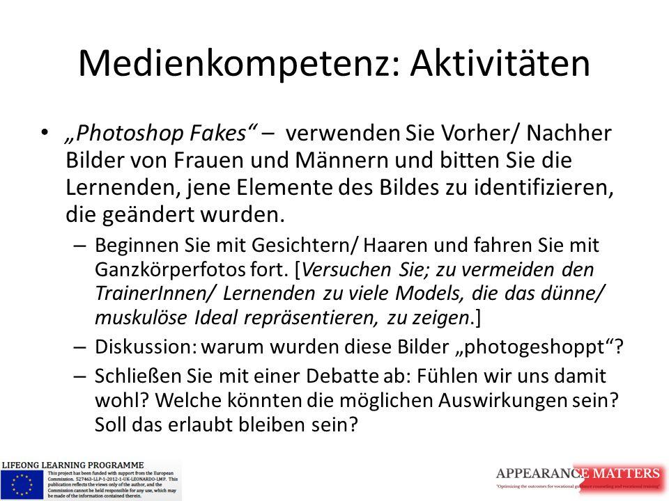 Medienkompetenz: Aktivitäten