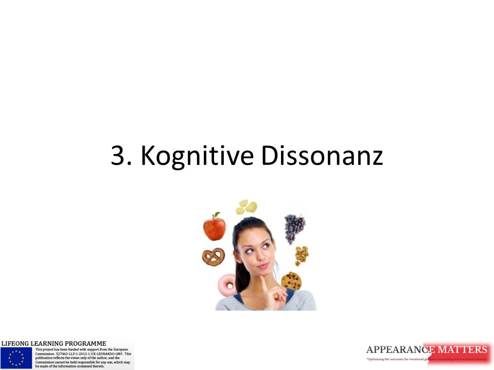 3. Kognitive Dissonanz