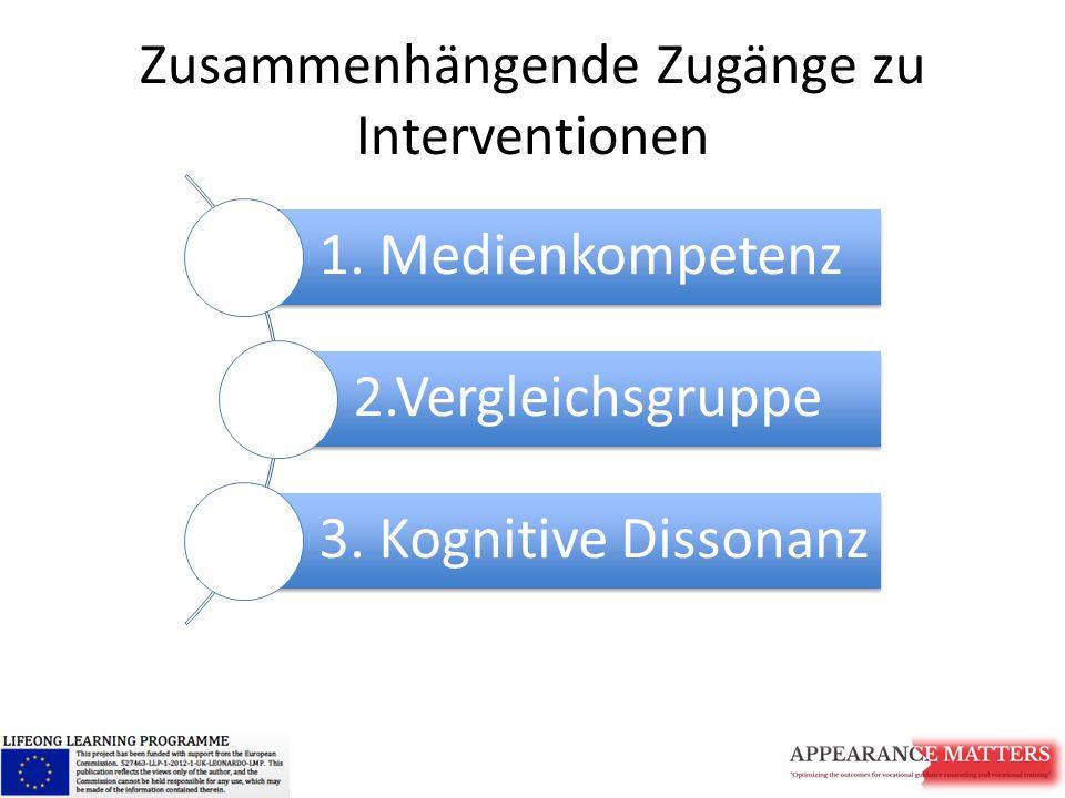 Zusammenhängende Zugänge zu Interventionen
