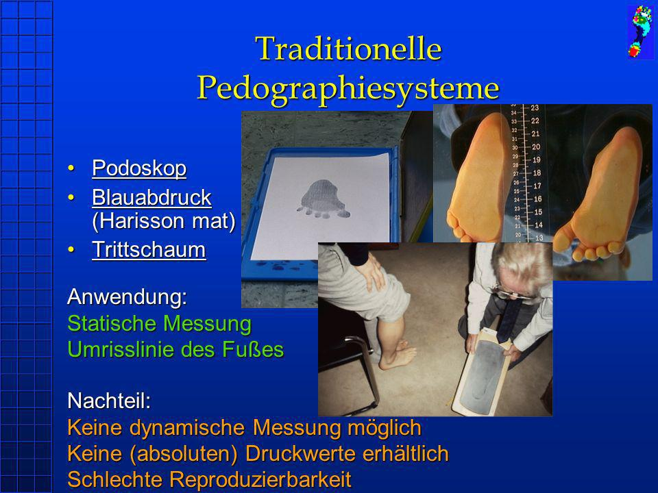 Traditionelle Pedographiesysteme