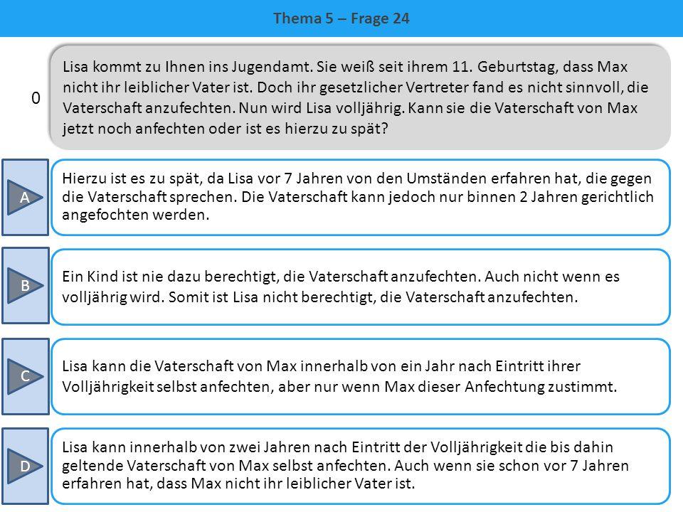Thema 5 – Frage 24