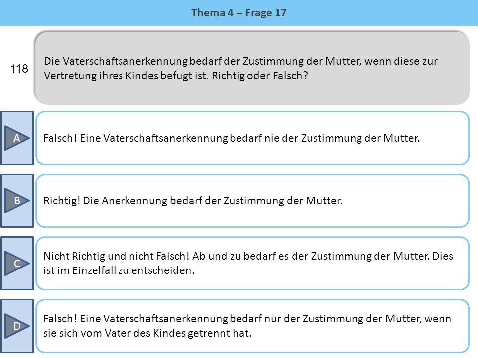Thema 4 – Frage 17
