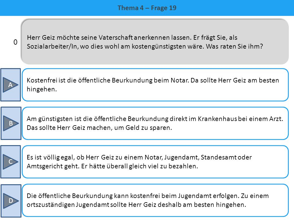 Thema 4 – Frage 19
