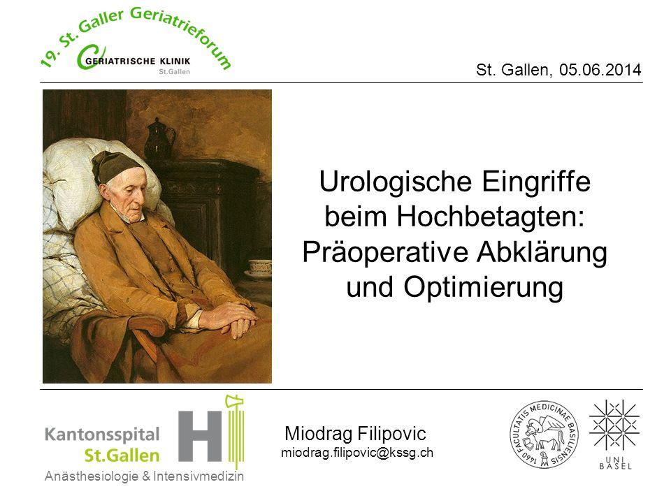 Anästhesiologie & Intensivmedizin