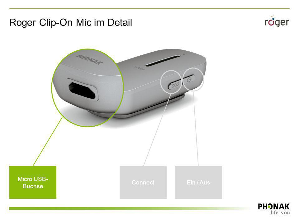Roger Clip-On Mic im Detail