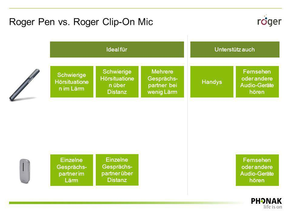 Roger Pen vs. Roger Clip-On Mic