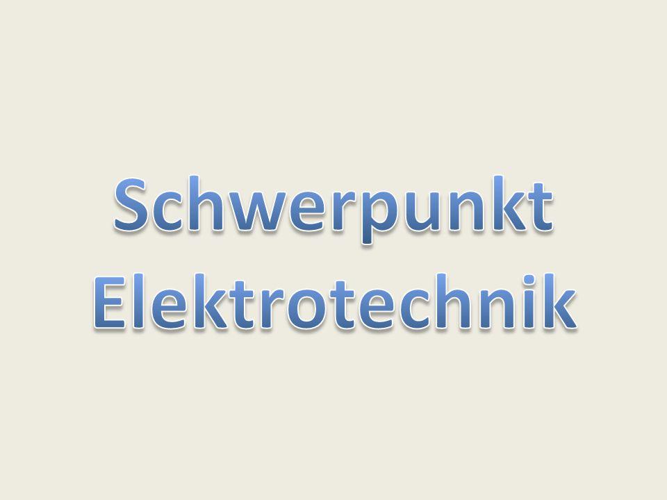 Schwerpunkt Elektrotechnik
