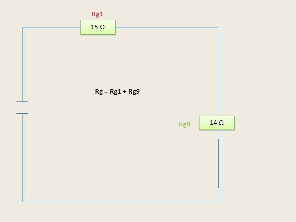 Rg1 15 Ω Rg = Rg1 + Rg9 14 Ω Rg9