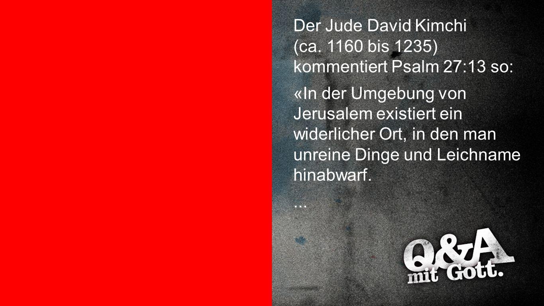 Kommentar David Kimchi