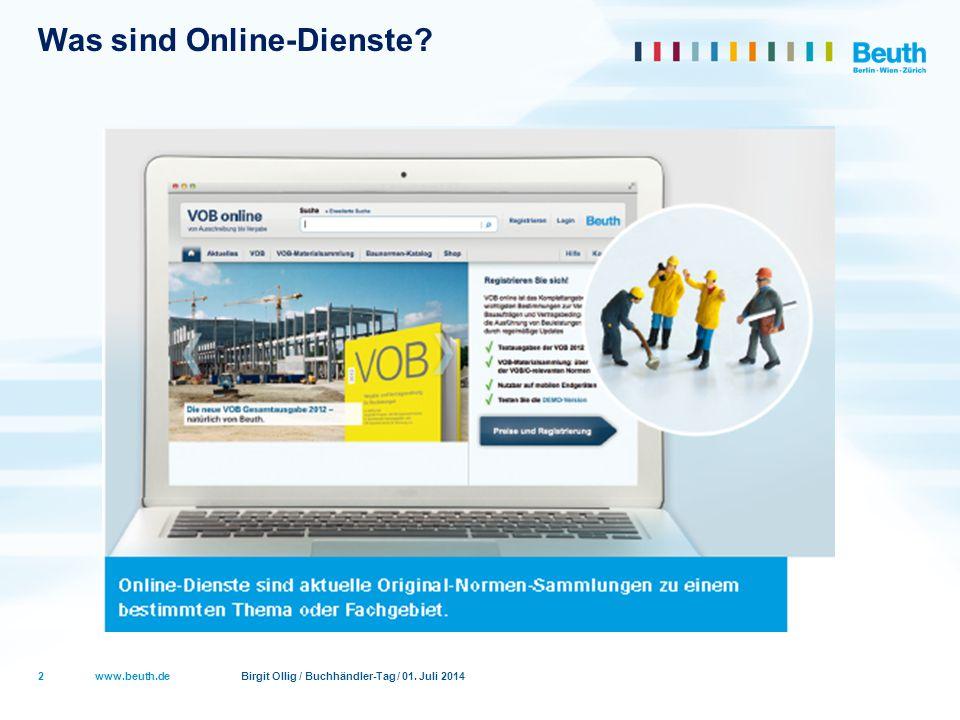 Was sind Online-Dienste
