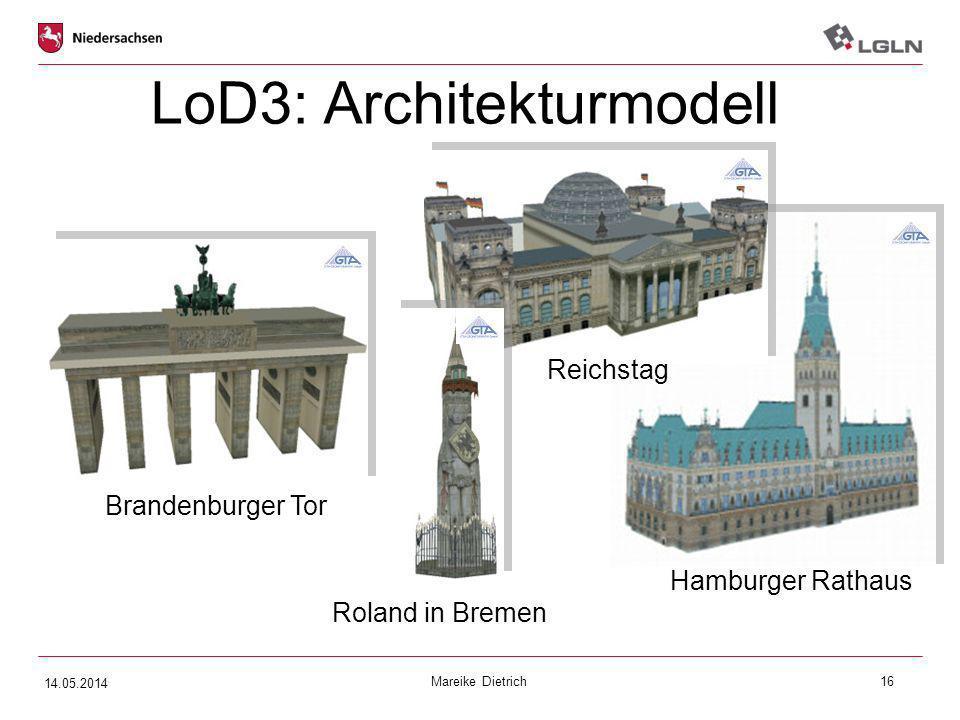 LoD3: Architekturmodell