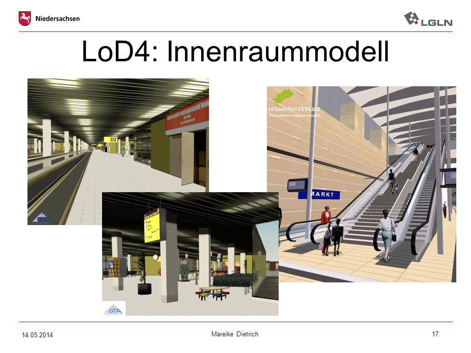 LoD4: Innenraummodell xxx