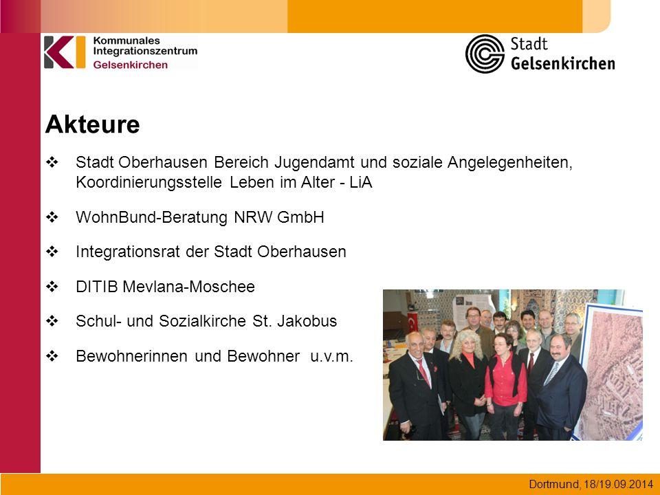Akteure Stadt Oberhausen Bereich Jugendamt und soziale Angelegenheiten, Koordinierungsstelle Leben im Alter - LiA.
