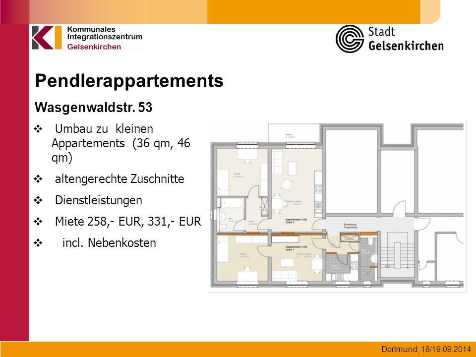Pendlerappartements Wasgenwaldstr. 53