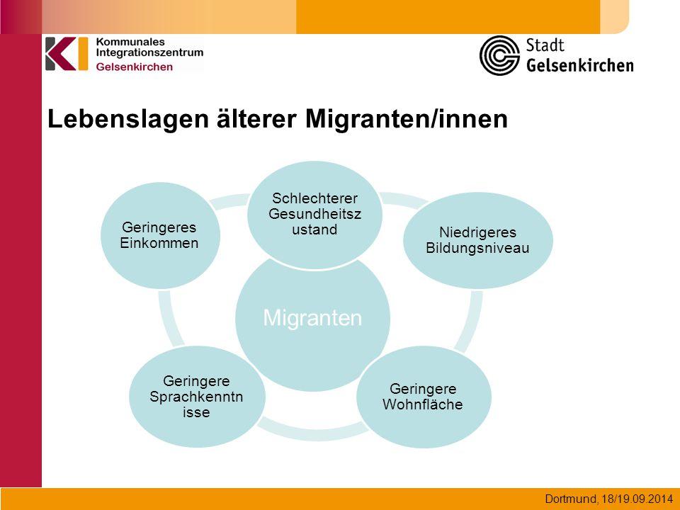 Lebenslagen älterer Migranten/innen