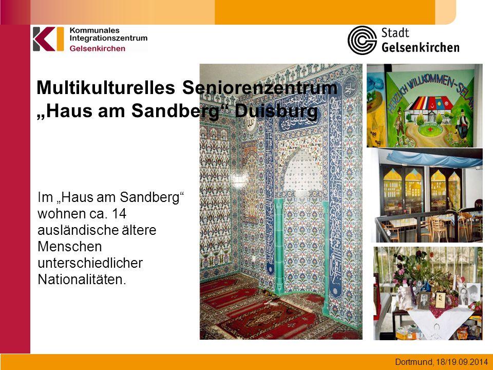 """Multikulturelles Seniorenzentrum """"Haus am Sandberg Duisburg"""