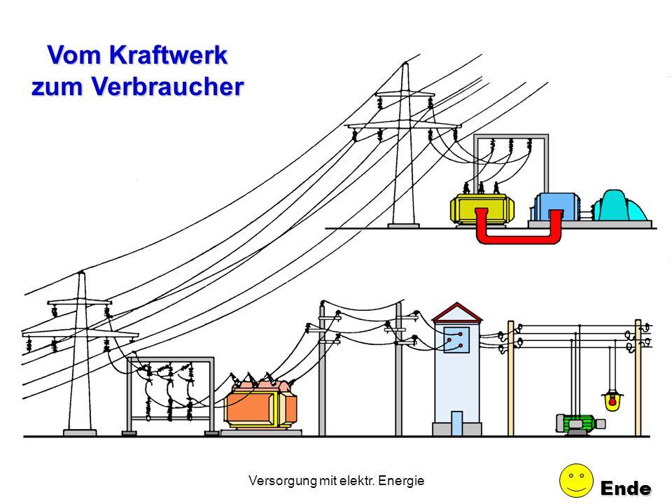 Vom Kraftwerk zum Verbraucher