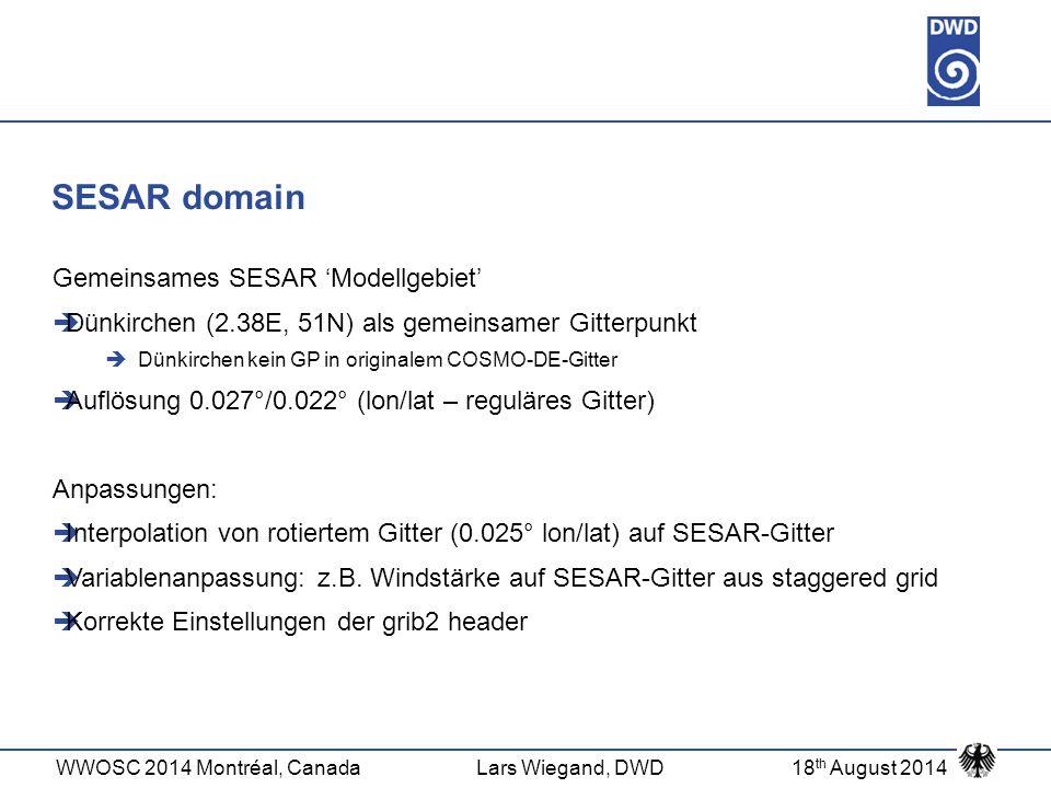 SESAR domain Gemeinsames SESAR 'Modellgebiet'