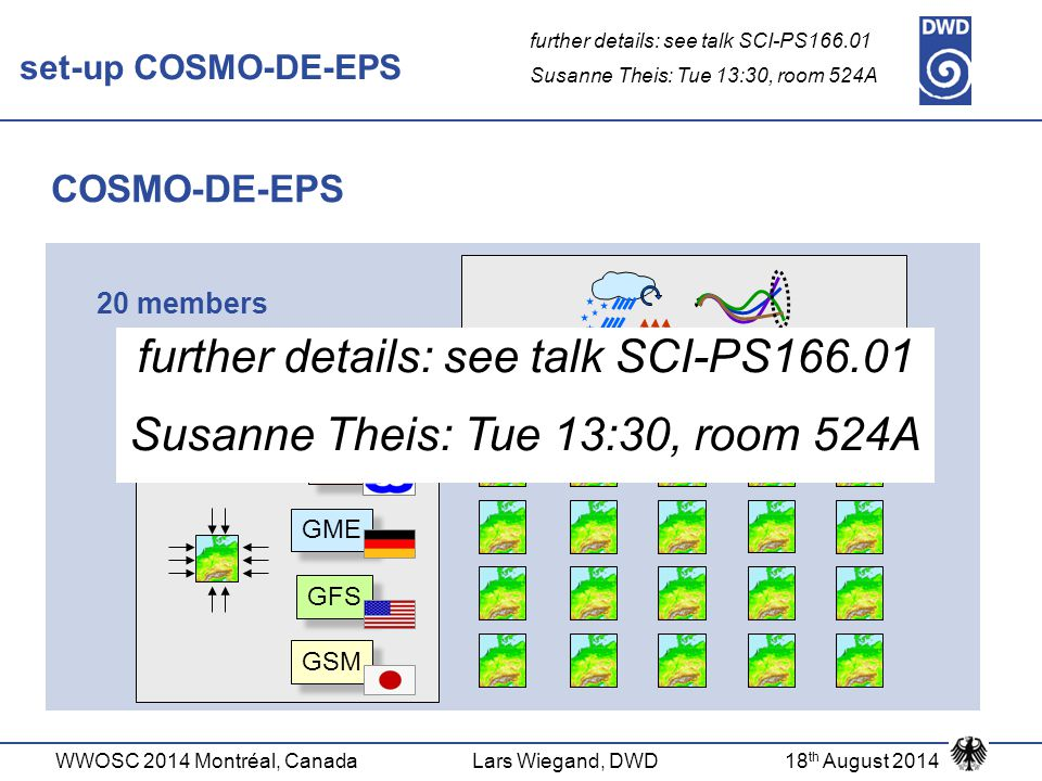 further details: see talk SCI-PS