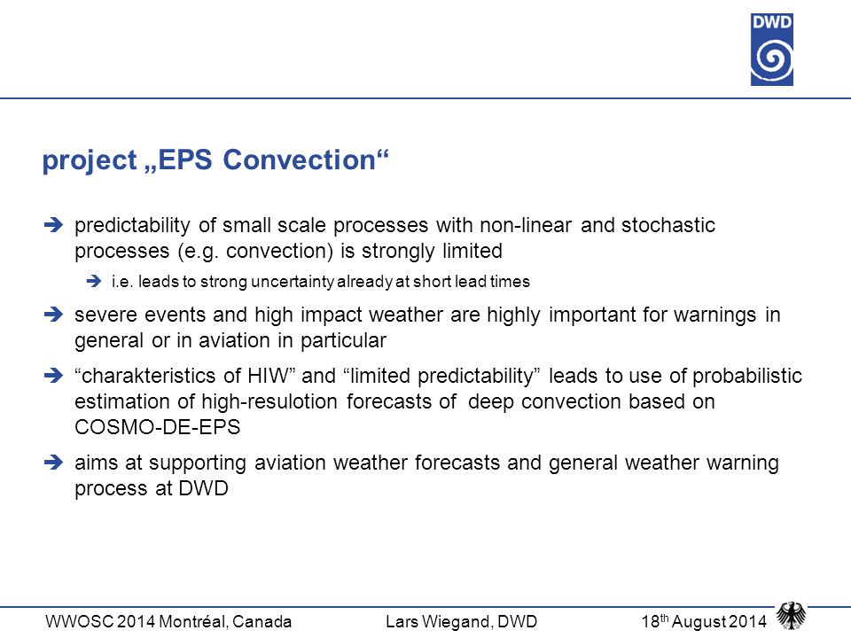 "project ""EPS Convection"