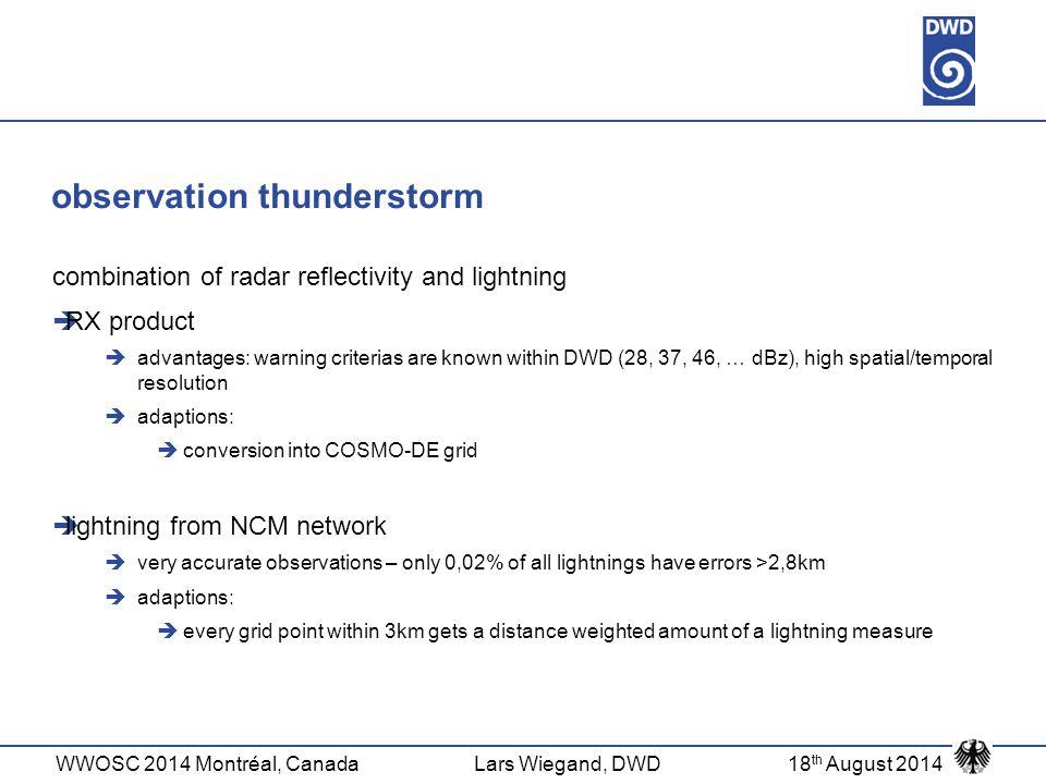 observation thunderstorm