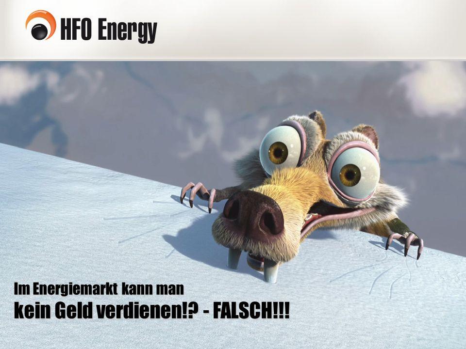Im Energiemarkt kann man kein Geld verdienen! - FALSCH!!!