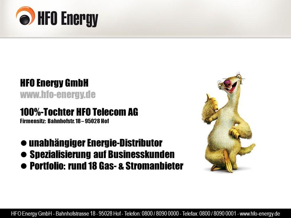 HFO Energy GmbH www. hfo-energy