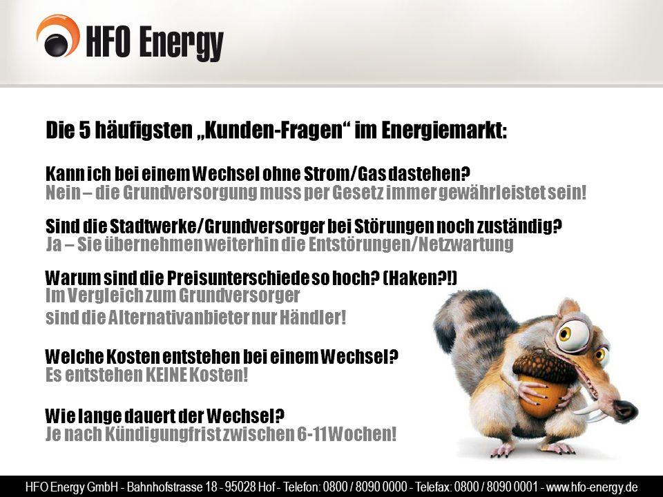 """Die 5 häufigsten """"Kunden-Fragen im Energiemarkt:"""