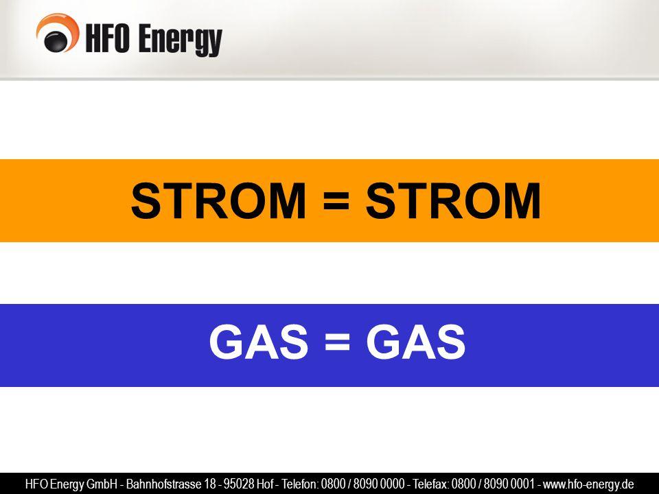 STROM = STROM GAS = GAS.