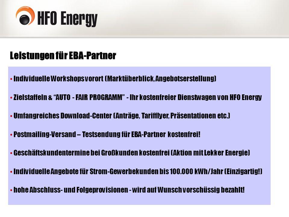 Leistungen für EBA-Partner