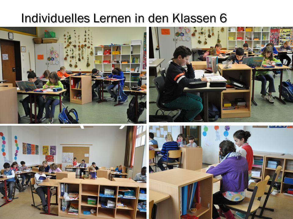 Individuelles Lernen in den Klassen 6