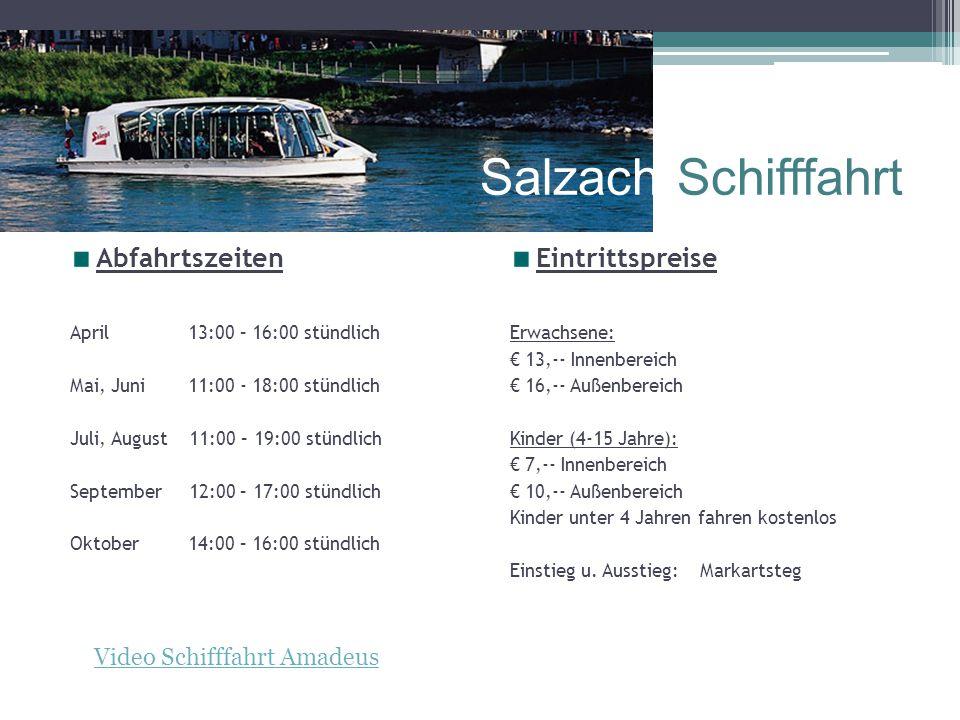 Video Schifffahrt Amadeus