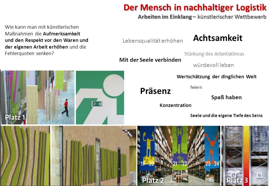 Der Mensch in nachhaltiger Logistik Arbeiten im Einklang – künstlerischer Wettbewerb