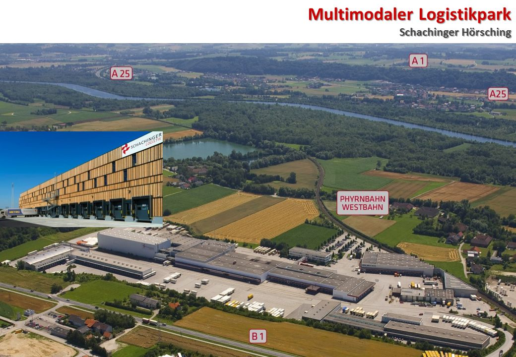 Multimodaler Logistikpark Schachinger Hörsching