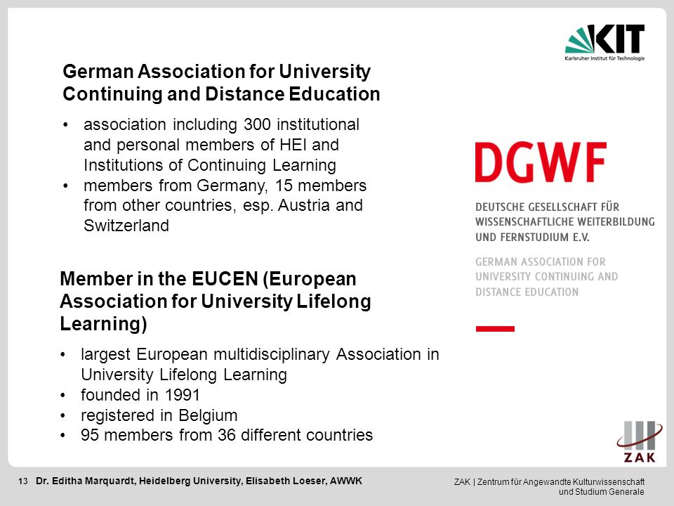 German Association for University Continuing and Distance Education