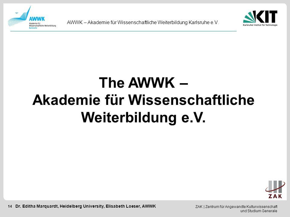 Akademie für Wissenschaftliche Weiterbildung e.V.