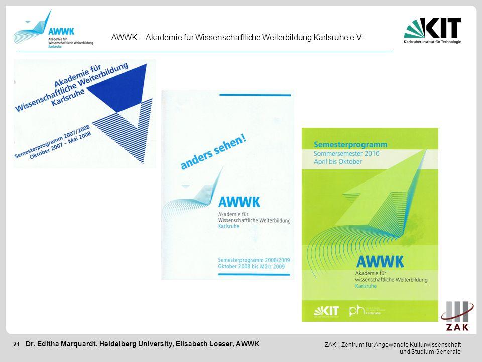 AWWK – Akademie für Wissenschaftliche Weiterbildung Karlsruhe e.V.