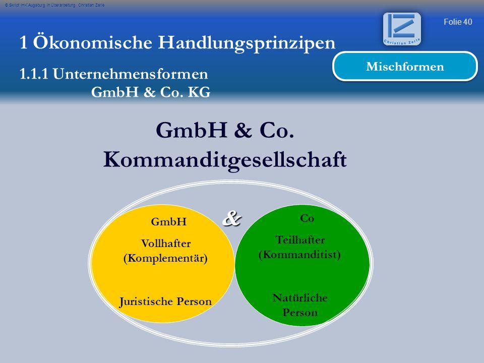 GmbH & Co. Kommanditgesellschaft