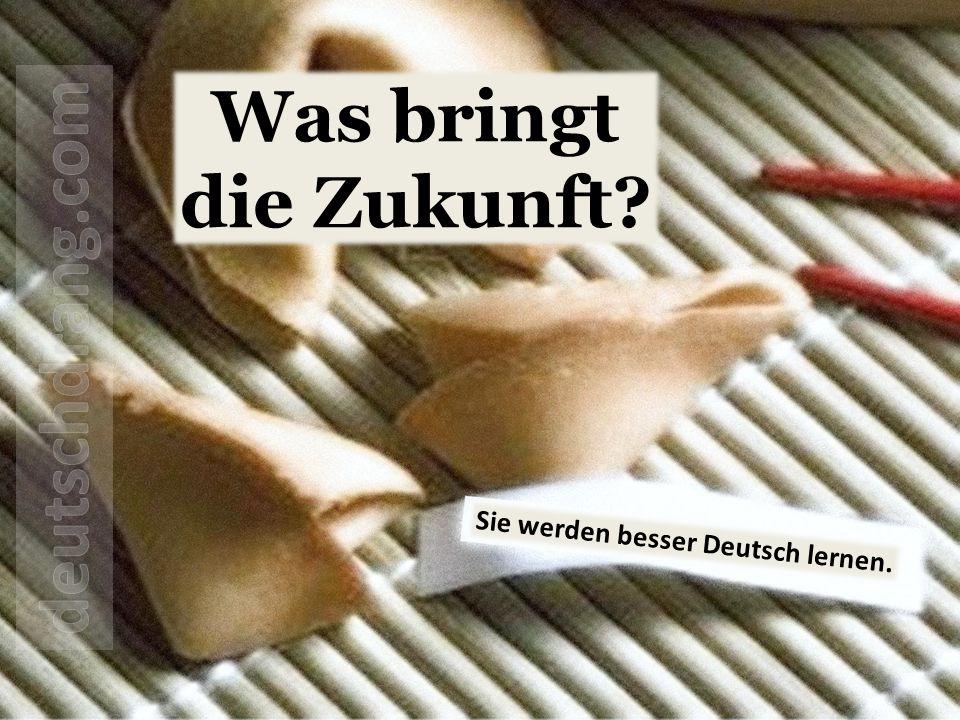Was bringt die Zukunft deutschdrang.com