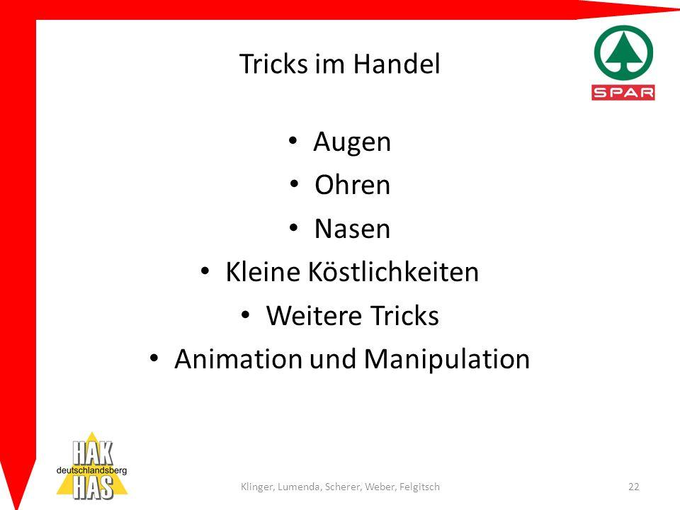 Kleine Köstlichkeiten Weitere Tricks Animation und Manipulation