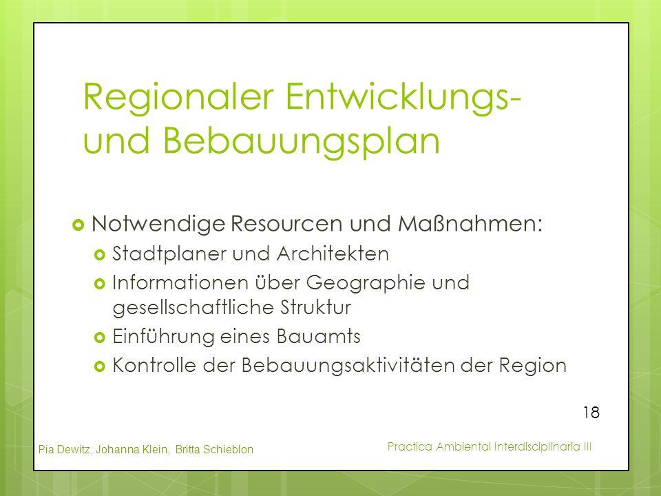 Regionaler Entwicklungs- und Bebauungsplan