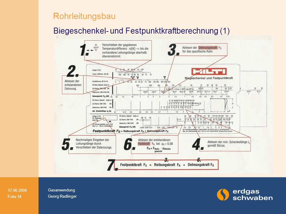 Biegeschenkel- und Festpunktkraftberechnung (1)