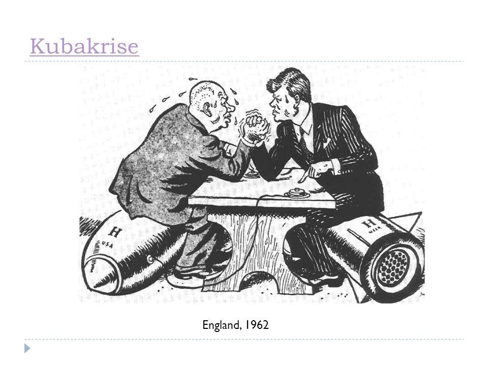 Kubakrise England, 1962