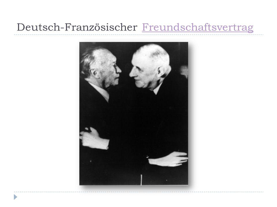 Deutsch-Französischer Freundschaftsvertrag
