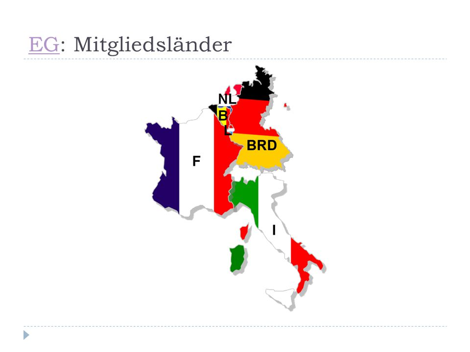 EG: Mitgliedsländer