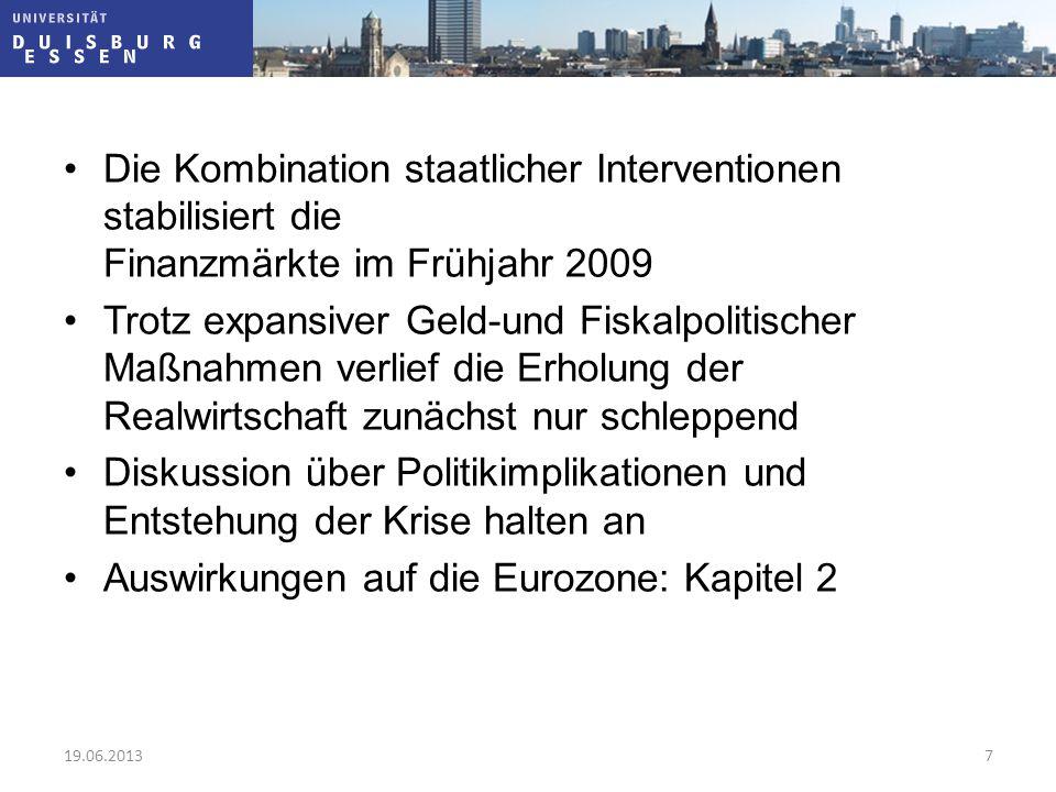 Auswirkungen auf die Eurozone: Kapitel 2