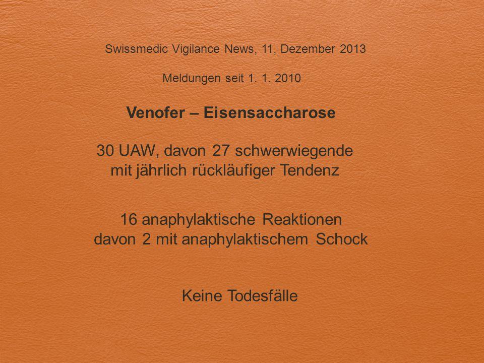 Venofer – Eisensaccharose